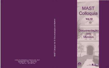 MAST Colloquia 10 - Museu de Astronomia e Ciências Afins