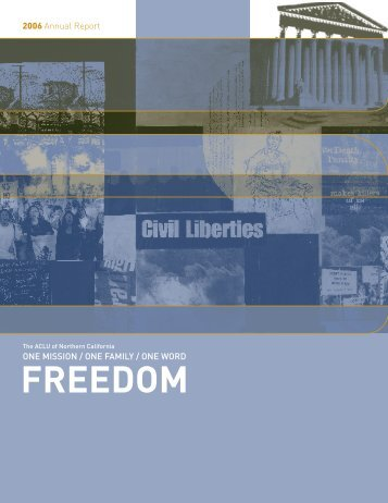 FREEDOM - ACLU of Northern California