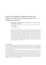 Numerical modeling of simultaneous heat and moisture transfer ...