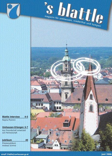 von Juli bis Dezember 2006 - Umhausen