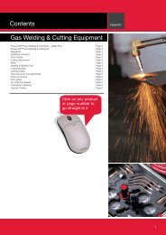 Contents Gas Welding & Cutting Equipment - Lincoln Electric