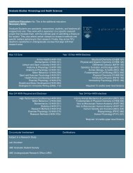 Grad- KINH - UBC School of Kinesiology