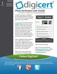 Photo Verification from ClickID - Digicert
