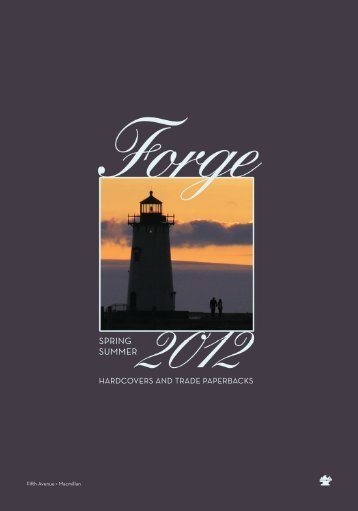 Spring 2012 Forge Frontlist Catalogue (PDF) - Raincoast Books