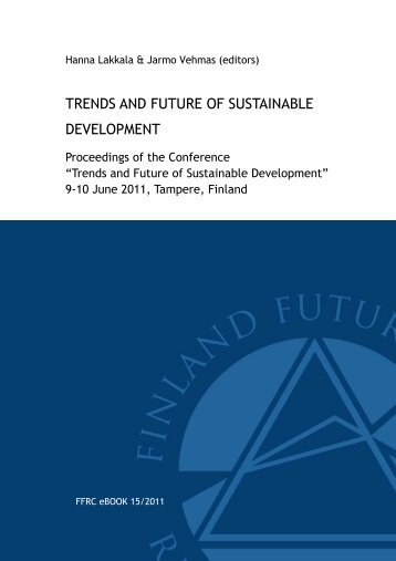 trends and future of sustainable development - TransEco