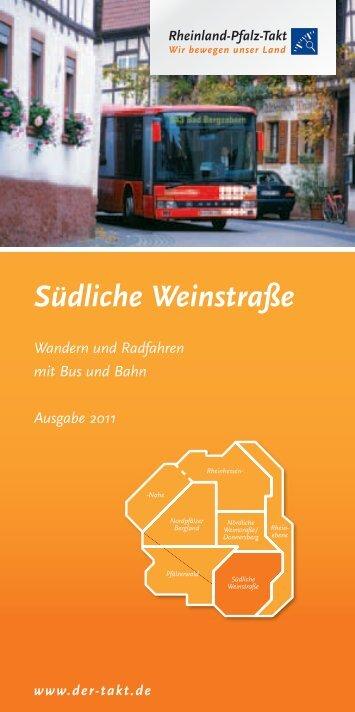Bahnwanderweg Winden – Bad Bergzabern - Südliche Weinstraße