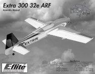 Extra 300 32e ARF Manual - Horizon Hobby