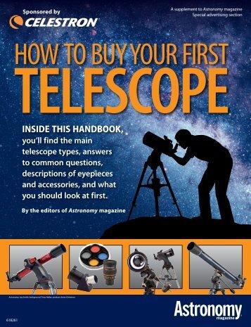 Celestron - Kako kupiti svoj prvi teleskop - Audioton