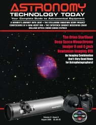 Cover Pages Issue 15.qxd:1 - Astronomy Technology Today