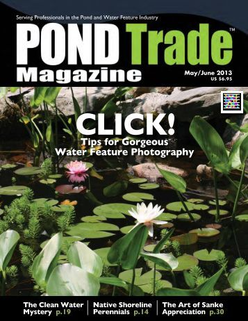 Download the May/June 2013 PDF - Pond Trade Magazine
