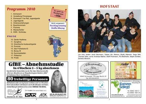 Schwangauer Faschingsumzug - Faschingsverein Schwangau