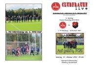 Sonntag, 21. Oktober 2012, 15 Uhr - 1.FC Nürnberg Frauen