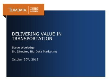 View Presentation (PDF) - Transportation Center