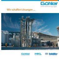 Wir schaffen Lösungen ... - Göhler Unternehmensgruppe