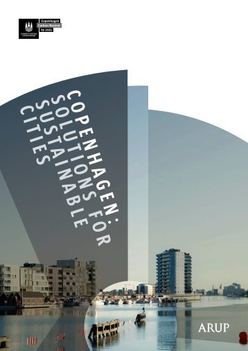 Copenhagen: Solutions for Sustainable Cities - Arup