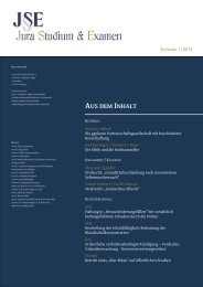 Download - Zeitschrift Jura Studium & Examen