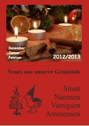 Gemeindebrief Dezember -Februar.cdr - Pfarrverband Naensen