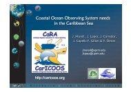 Jose Lopez (Caribbean Coastal Ocean Observing System