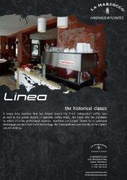 Download the La Marzocco Linea brochure here - Espresso Parts