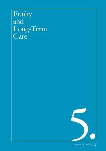 Frailty and Long-Term Care