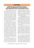 Bulletin de liaison n°005 - Caritas Goma - Page 3
