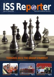 towards 2015: the group strategy - Inchcape Shipping Services