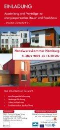 Programm - Passivhäuser in Hamburg