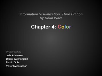 Chapter 4: Color