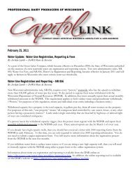 February 25, 2011 Water Update: Water Use Registration, Reporting ...