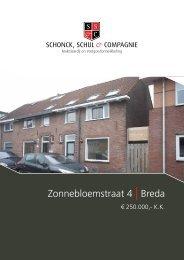 Zonnebloemstraat 4 | Breda - Schonck, Schul & Compagnie