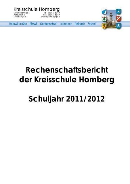 Jahresbericht - Reinach