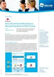 Swiss Life archiviert Dokumente aus Microsoft SharePoint im PDF/A ...