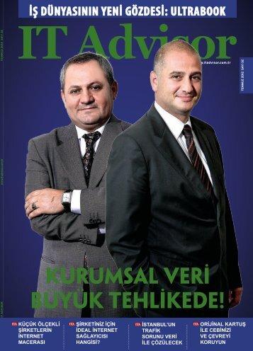 Temmuz 2012 Sayı 32 - IT Advisor