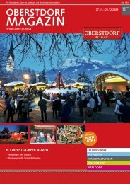 oberstdorf magazin 6. oberstdorfer advent - Amazon Web Services
