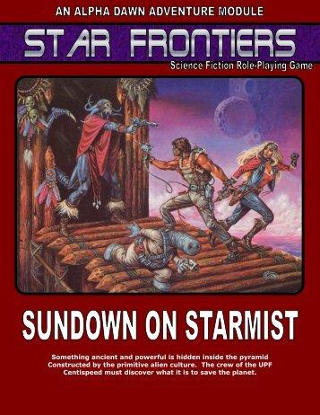 SF3-Sundown on Starmist - Star Frontiersman