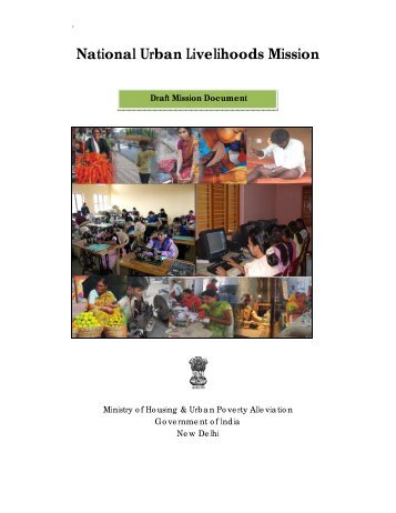 NULM- Draft Mission Document.pdf - Ministry of Housing & Urban ...