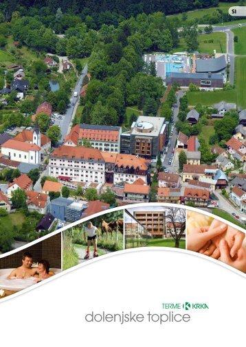 Hotelski prospekt - Terme Krka