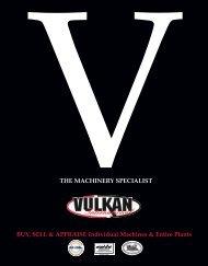 Vulkan singles - Used Equipment Network