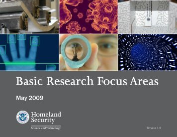 Basic Research Focus Areas Publication - Oak Ridge Institute for ...