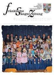FSZ 1/2009 - Fränkischer Sängerbund