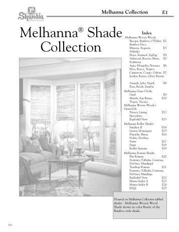 Melhanna Collection - Skandia Window Fashions