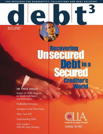 39068_ CLLA DEBT3 - Commercial Law League Of America