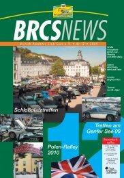 BRCS News Titel Heft Nr.12 - BRCS - British Roadster Club Saar eV