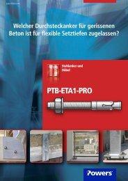 PTB-ETA1-PRO - bei Powers Europe