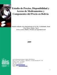Estudio de Precios, Disponibilidad y Acceso de Medicamentos y ...