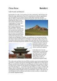 China Reise Bericht 4 - oriole