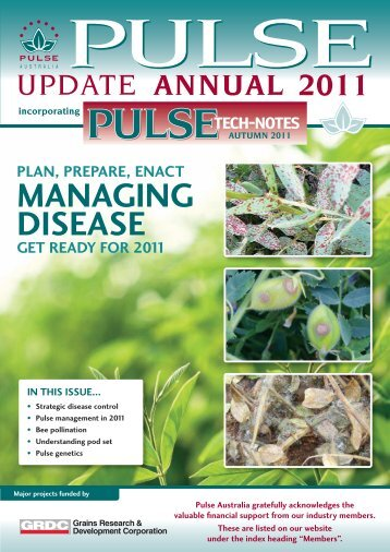 MAnAging diseAse - Pulse Australia