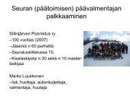 SiiPo esitys 7.5.2010 - Ski Sport Finland ry