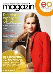 Die Mode- highlights der Saison - EO Einkaufszentrum Oberwart