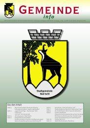 Juni 2005 - Stadtgemeinde Bad Ischl - Land Oberösterreich
